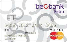 beobank-extra-world-mastercard