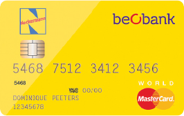 beobank-neckermann-world-mastercard
