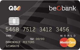 Beobank Q8 World Mastercard